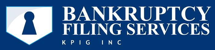 Bankruptcy Filing Services, KPIG Inc.